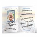 Irish Memorial Bookmarks Ireland Theme In Loving Memory Of  Personalised Photo - CEL17