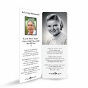 Old Photo In Remembrance Laminated Memorial Bookmarks Catholic - CLS19