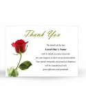FLW32 Memorial Thank You Card