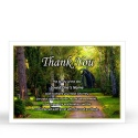 SCE28 Memorial Thank You Card
