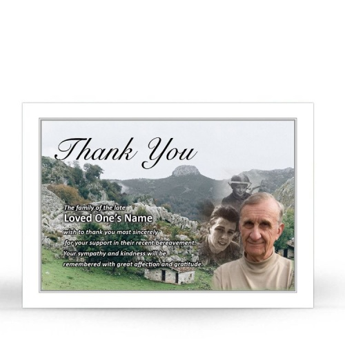 BES03 Memorial Thank You Card