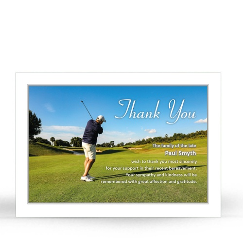 BES07 Memorial Thank You Card