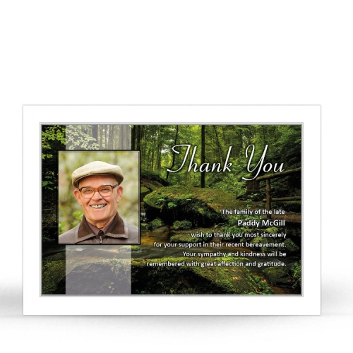BES08 Memorial Thank You Card