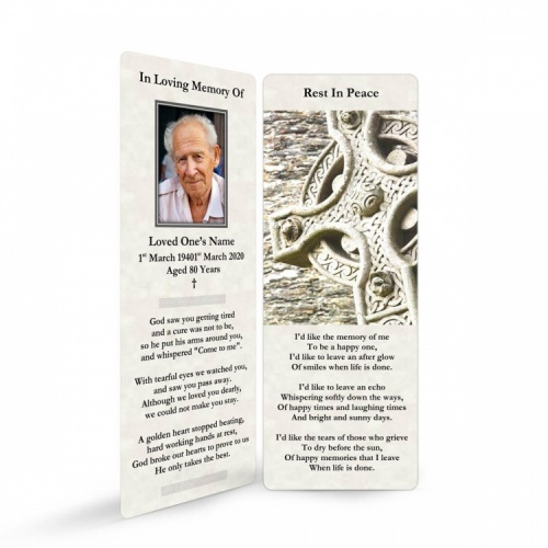 CEL04 Memorial Bookmark