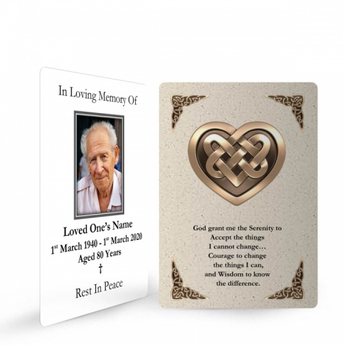 CEL14 Memorial Wallet Card