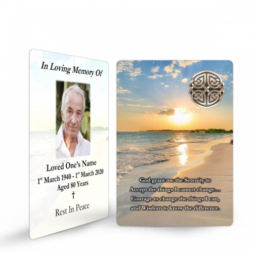 CEL32 Memorial Wallet Card