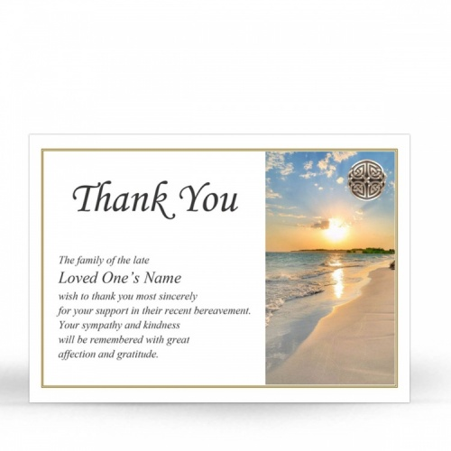 CEL32 Memorial Thank You Card