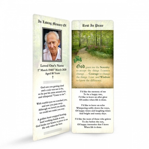 CEL47 Memorial Bookmark