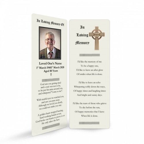 CEL51 Memorial Bookmark