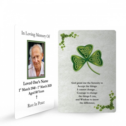 CEL53 Memorial Wallet Card