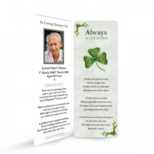 CEL53 Memorial Bookmark