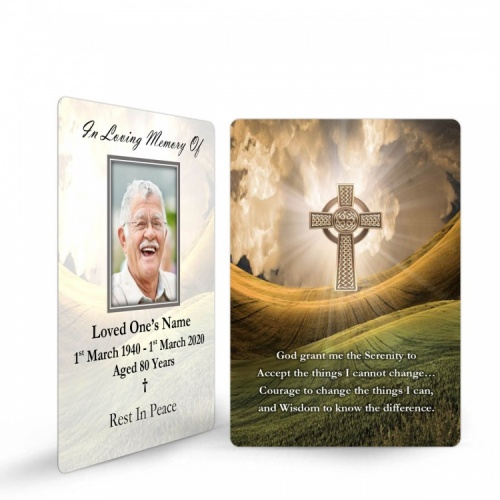 CEL59 Memorial Wallet Card