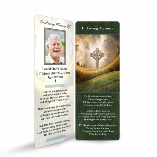 CEL59 Memorial Bookmark