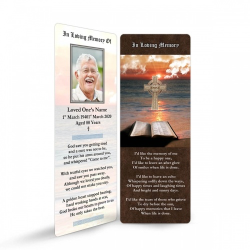 CEL60 Memorial Bookmark