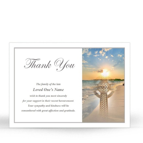 CEL70 Memorial Thank You Card