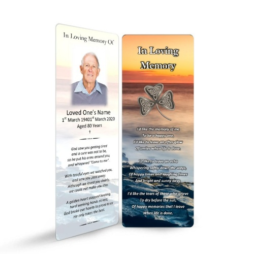 CEL73 Memorial Bookmark
