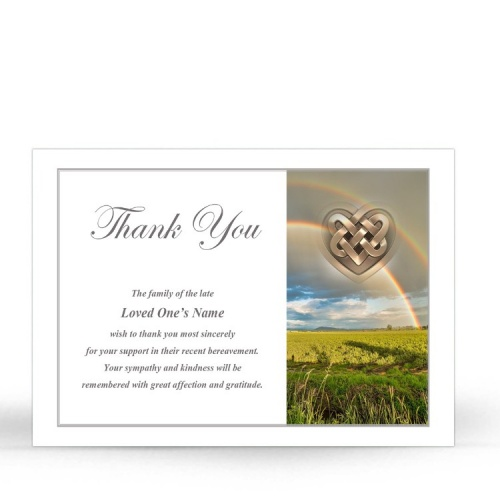 CEL75 Memorial Thank You Card