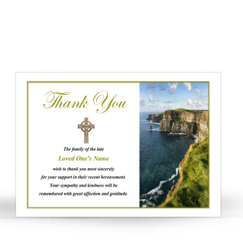 CEL78 Memorial Thank You Card