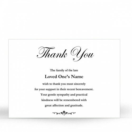 CLS19 Memorial Thank You Card