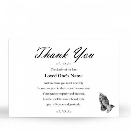 CLS15 Memorial Thank You Card