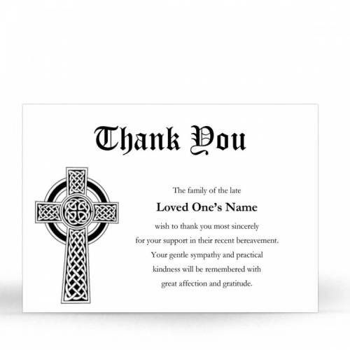 CLS16 Memorial Thank You Card