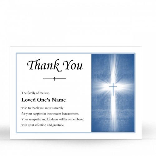 CRS13 Memorial Thank You Card