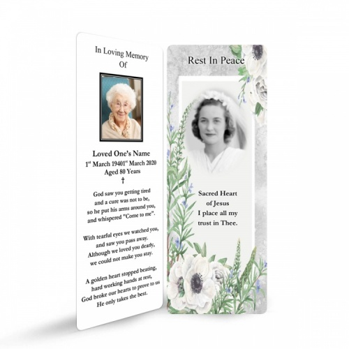 FLW84 Memorial Bookmark
