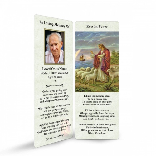 JC03 Memorial Bookmark