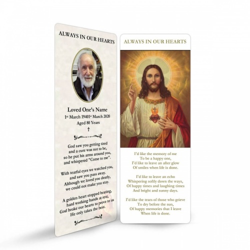JC04 Memorial Bookmark