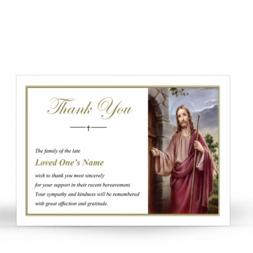 JC05 Memorial Thank You Card