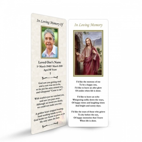 JC05 Memorial Bookmark