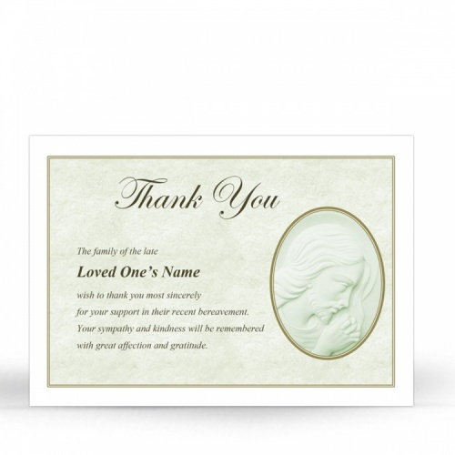 JC06 Memorial Thank You Card