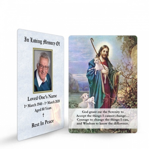 JC08 Memorial Wallet Card