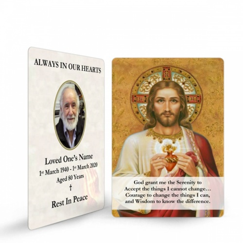 JC09 Memorial Wallet Card