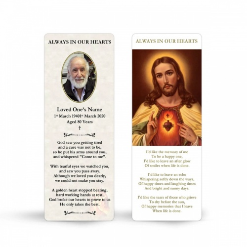 JC14 Memorial Bookmark
