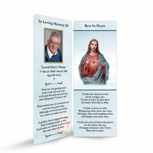 JC15 Memorial Bookmark