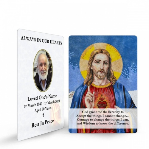 JC16 Memorial Wallet Card