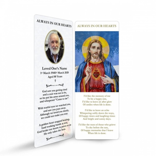 JC16 Memorial Bookmark