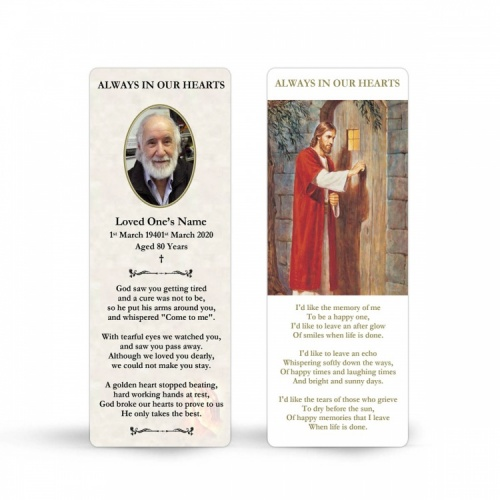 JC17 Memorial Bookmark