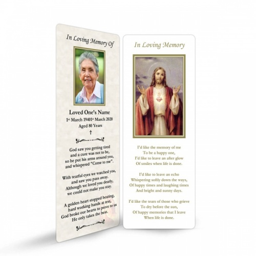 JC24 Memorial Bookmark