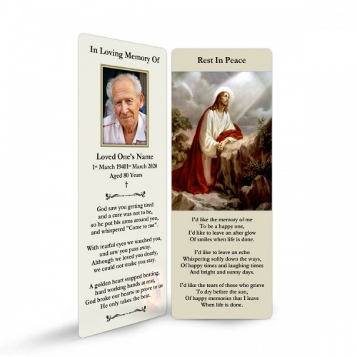 JC35 Memorial Bookmark