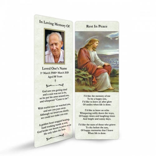 JC38 Memorial Bookmark