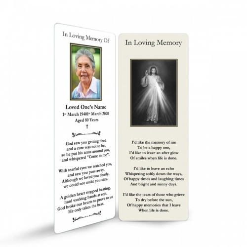 JC40 Memorial Bookmark