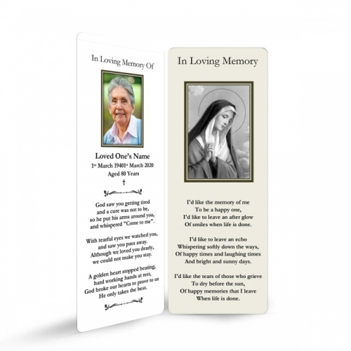 MARY47 Memorial Bookmark