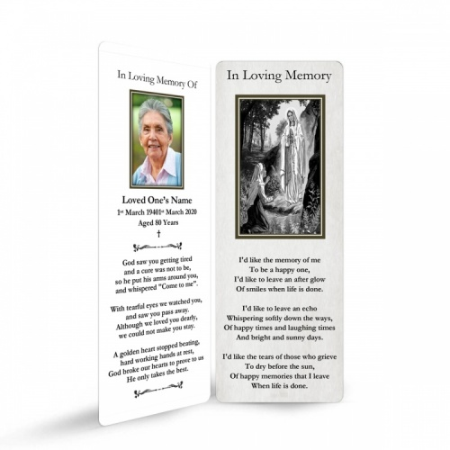 MARY48 Memorial Bookmark