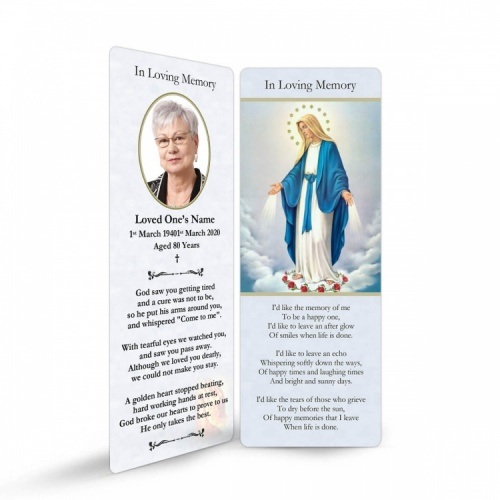 MAR01 Memorial Bookmark