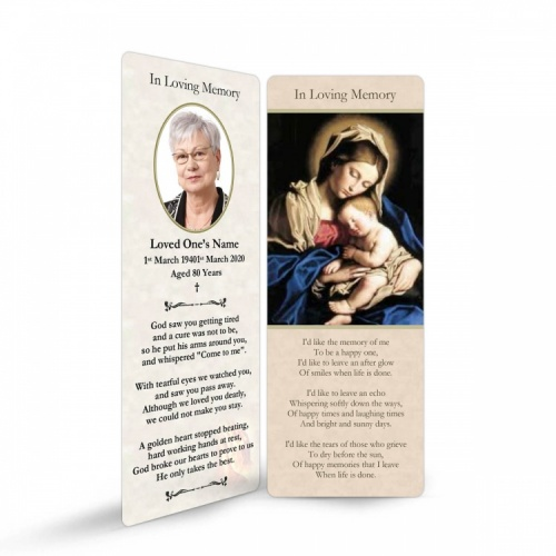 MAR04 Memorial Bookmark