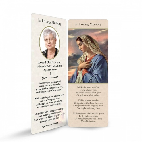 MAR06 Memorial Bookmark