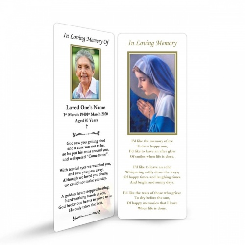 MAR10 Memorial Bookmark