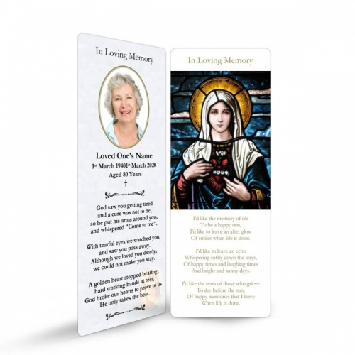 MAR12 Memorial Bookmark
